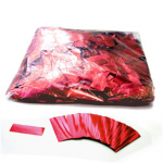 Red Glitter 17mm x 55mm Rectangles