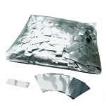 Silver Glitter 17x55mm Rectangles